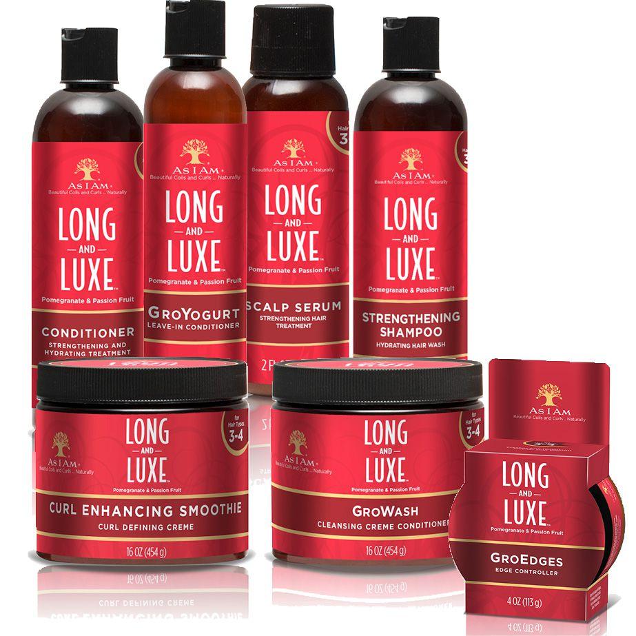 La gamme Long&Luxe des soins As I Am - Ocean's News