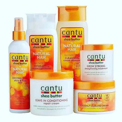 La gamme naturelle au beurre de karité de la marque Cantu - Ocean's News