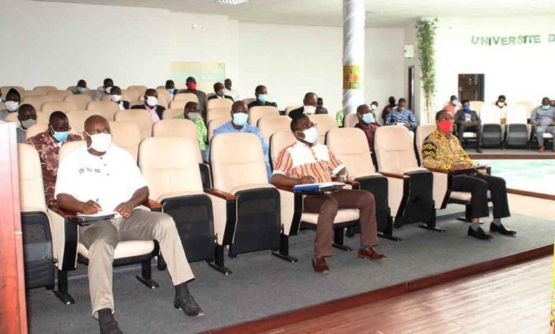 Mise en ligne des cours à l'Université de Lomé