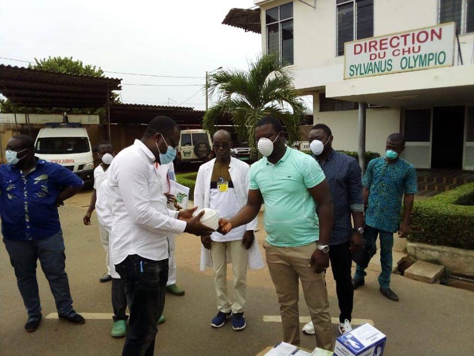 Laba Fodoh fait un don conséquent au personnel soignant - Ocean's News