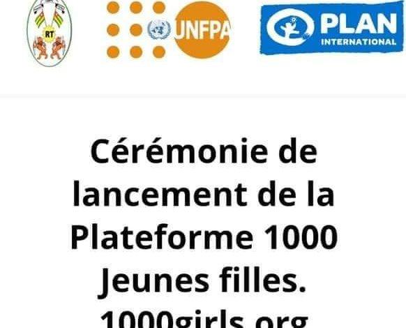 plateforme 1000 jeunes filles