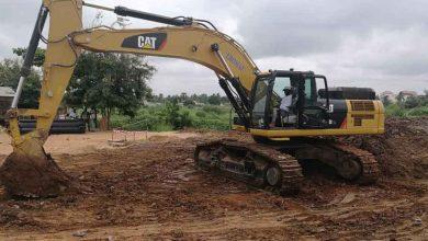 Travaux de réhabilitation de la Route N°5 Lomé-Kpalimé