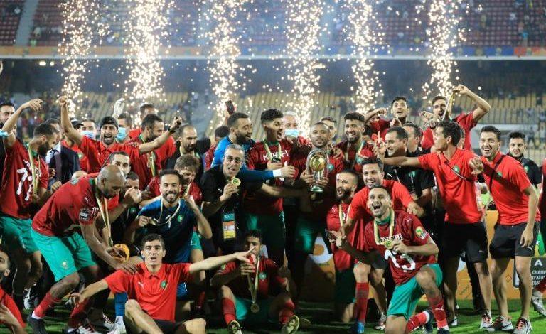 Le Maroc vainqueur du CHAN 2020