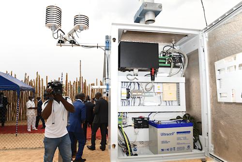 Le Togo inaugure trois stations météorologiques marines