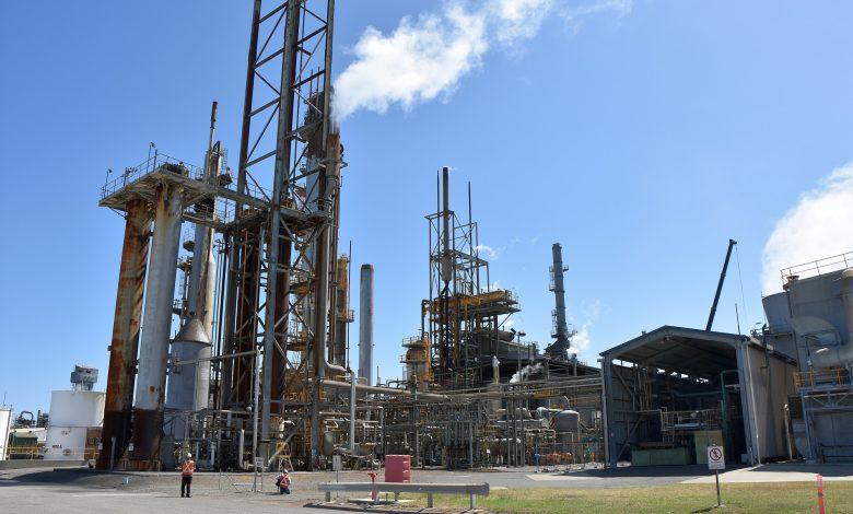 réglementation dans les installations chimiques