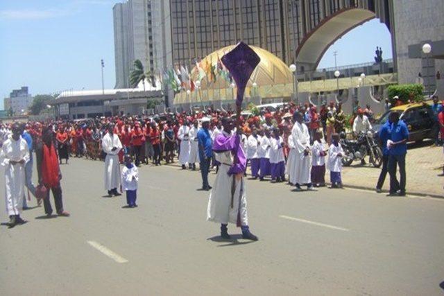 Le chemin de croix interdit au Togo