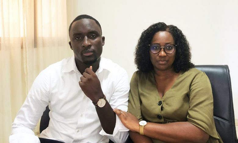 Maty Lo et Idrissa Niane