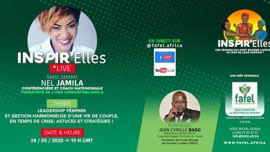 Photo of Burkina : Nel Jamila, invitée du deuxième épisode de Inspir'Elles Live