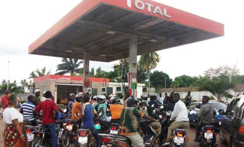 baisse du prix du carburant