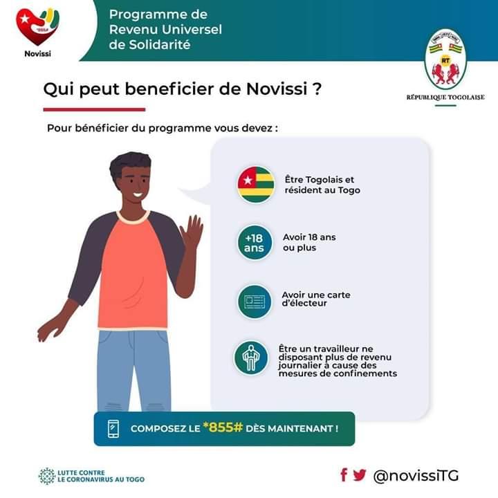 Le programme Novissi