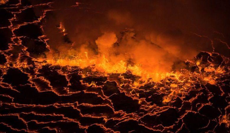 Le lac de feu mortel