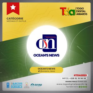 Ocean's News nominé aux Togo Digital Awards