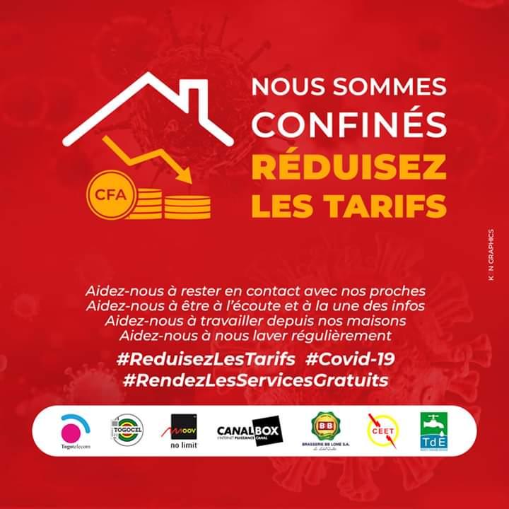 #RéduisezLesTarifs, le mouvement citoyen contre la cherté des taris de communication au Togo