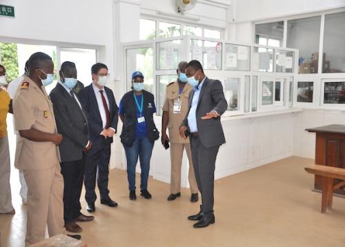 Réhabilitation du Centre de prise en charge des malades du Covid-19 au Togo (2)