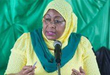Samia Suluhu Hassan présidente
