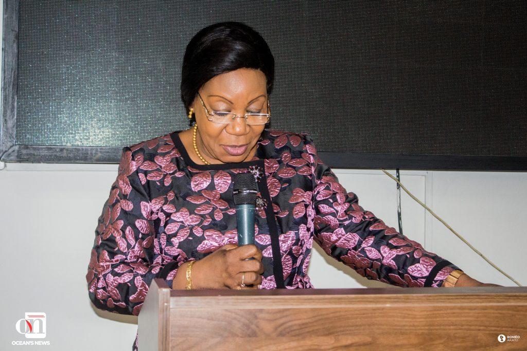 Son Excellence Madame Catherine SAMBA-PANZA, Ex-Présidente de la République de Centrafrique, Co-Présidente du Réseau des Médiatrices de l'Union Africaine FemWise Africa de l'UA