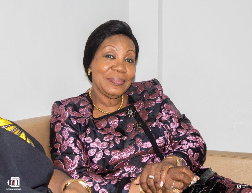 Son Excellence Madame Catherine SAMBA-PANZA, ancienne chef d'État de la Centrafrique