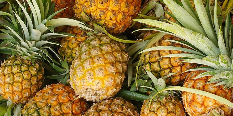 Ocean's News - Bien-être : l'ananas et ses vertus nutritionnelles