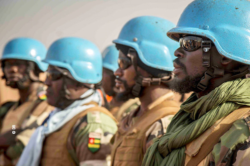 Attaque contre les casques bleus togolais