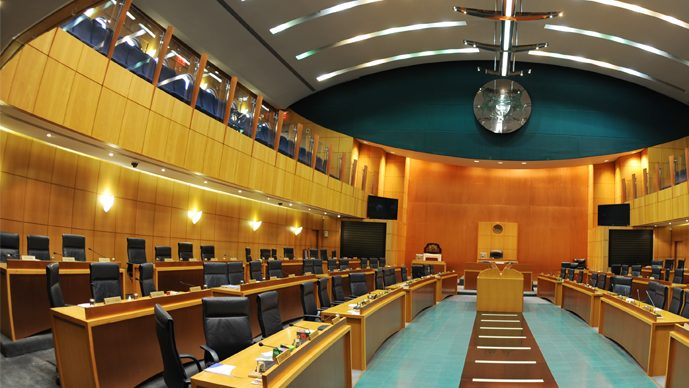 députés du parlement botswanais
