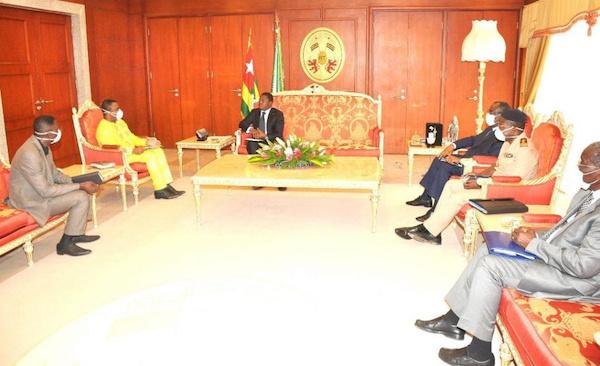 Coronavirus au Togo : une énième séance de travail entre le Chef de l'État Togolais et l'Unité opérationnelle de prise en charge