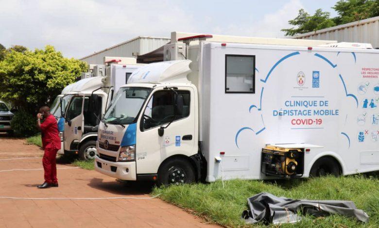 PNUD fait don de trois cliniques mobiles
