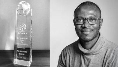 Photo of Bénin : le Prix Dr Tarek Kamel 2020 de l'ICANN a été décerné à Ramanou Biaou