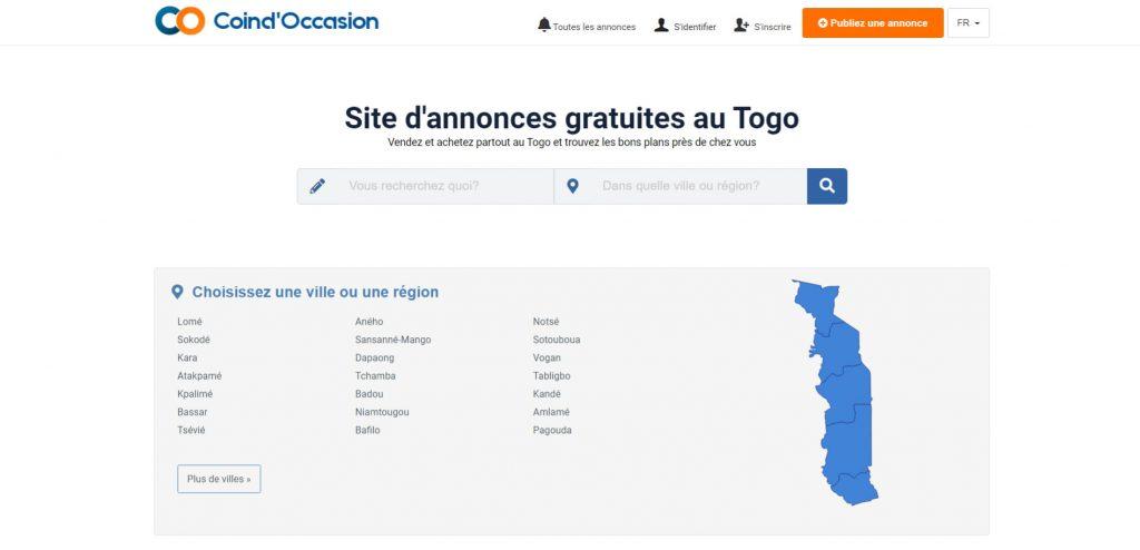 site de petites annonces gratuites au Togo